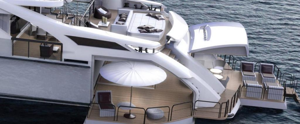 Exterior Pershing 140 New Boat