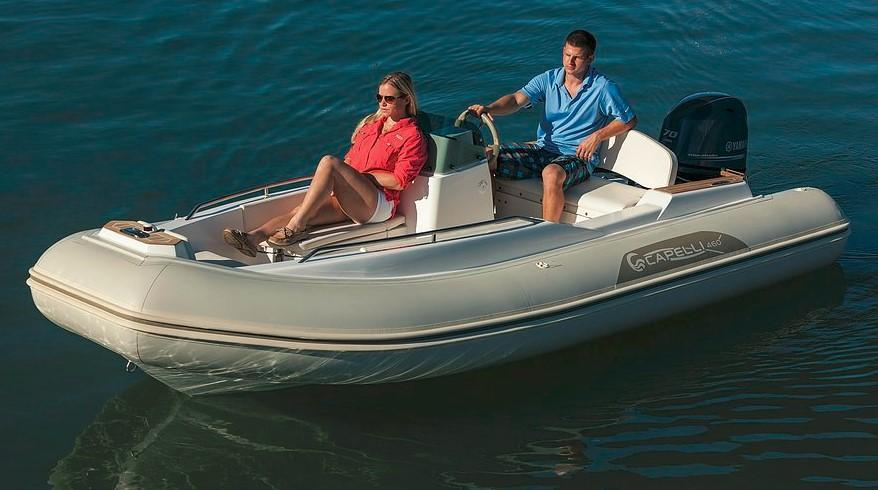 Exterior Capelli Tempest 460 Yacht New Boat