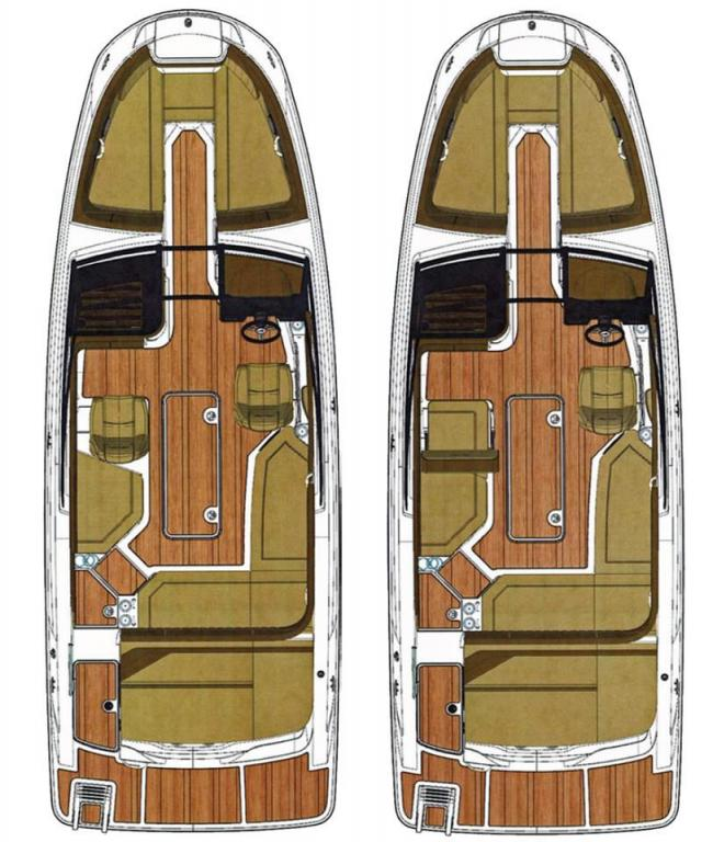 Layout Sea Ray SPX 230