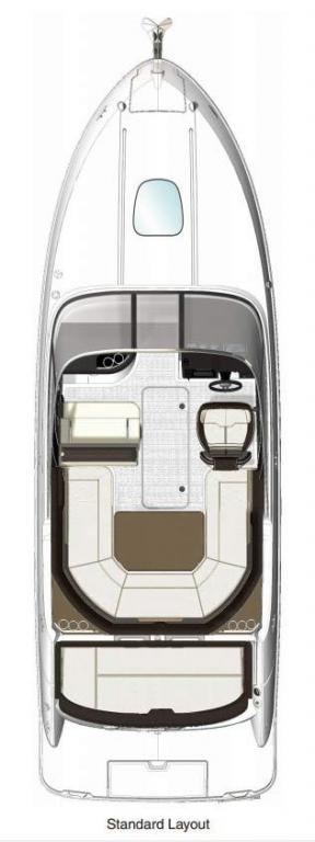 Layout Sea Ray Sunsport 250