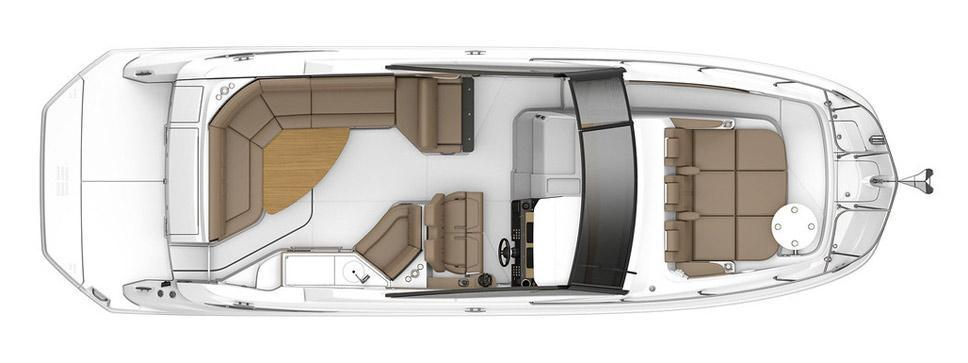 Layout Sea Ray Sport Cruiser 320 Sundancer