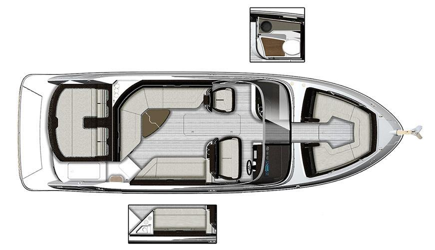 Layout Sea Ray Sport Boat 280 SLX