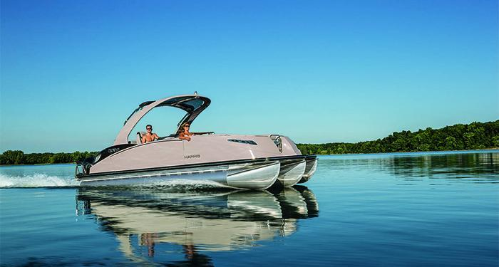 esterno Harris Crown DL 250 Twin Engine Barca nuova