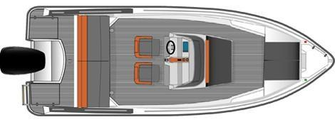 Layout Bella Open Boat 600 R