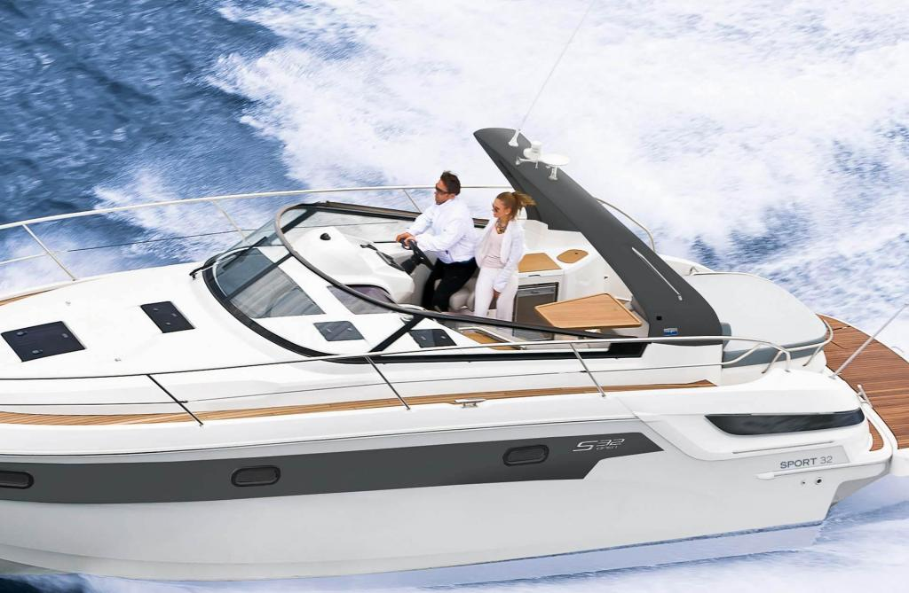 Exterior Bavaria S32 OPEN New Boat
