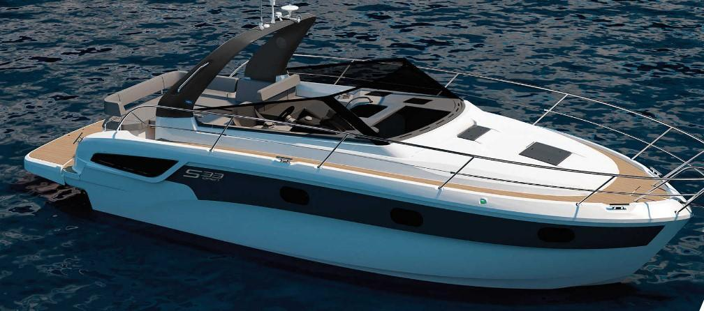 Exterior Bavaria S33 OPEN New Boat