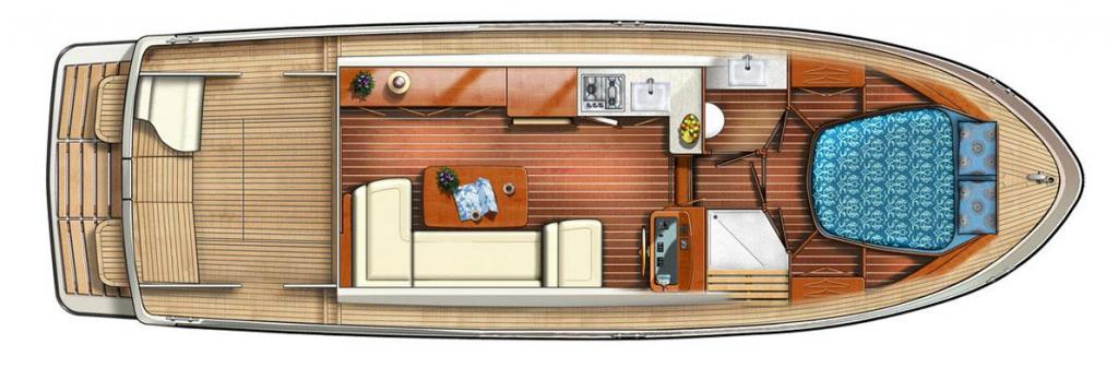 Layout Linssen Grand Sturdy 35.0 Sedan