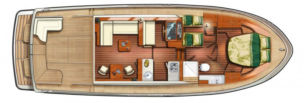 Layout Linssen Grand Sturdy 40.0 Sedan