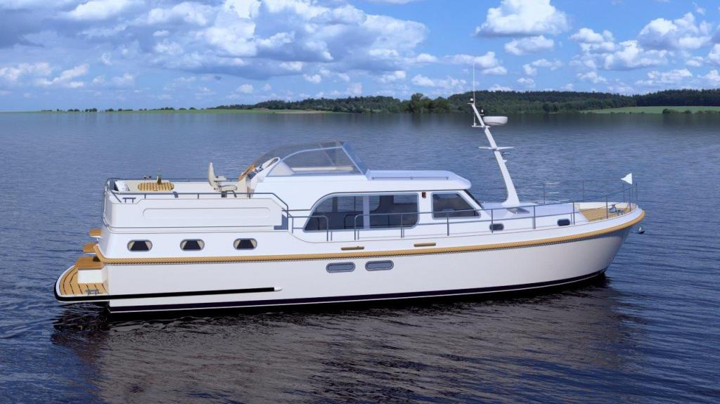 Exterior Linssen Grand Sturdy 45.0 AC New Boat
