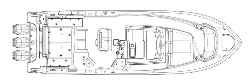 Layout Boston Whaler 350 Realm