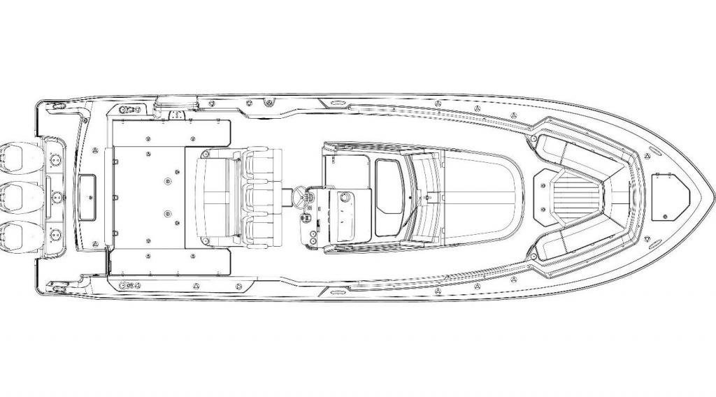 Layout Boston Whaler 380 Outrage
