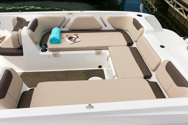 Aussenansicht Bayliner Element E21 Neuboot