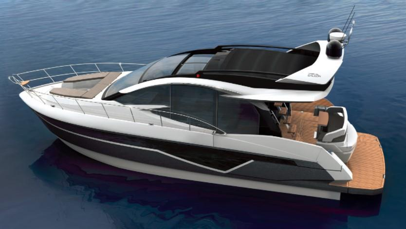 Exterior Galeon 470 Skydeck New Boat
