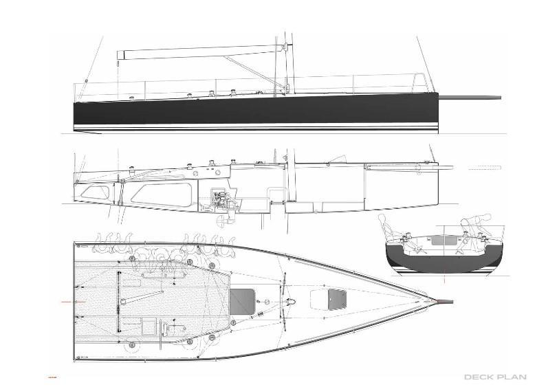 Layout Melges IC37 Class