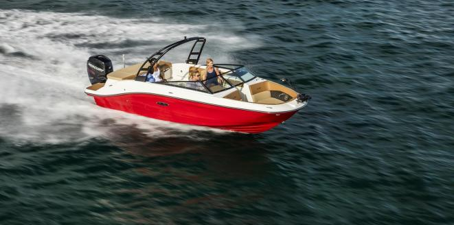 Sea Ray SPX 230 OB Neuboot