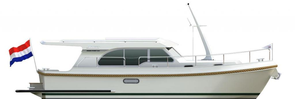 Layout Linssen Grand Sturdy 30.0 Sedan