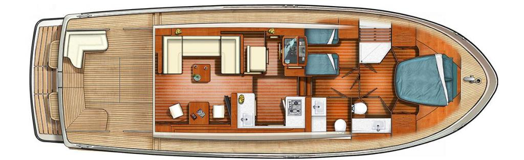 Layout Linssen Grand Sturdy 45.0 Sedan