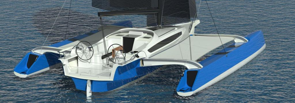 Exterior Dragonfly 40 New Boat