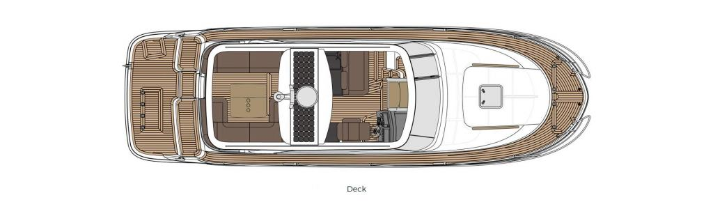 Layout Marex 360 Cabriolet Cruiser