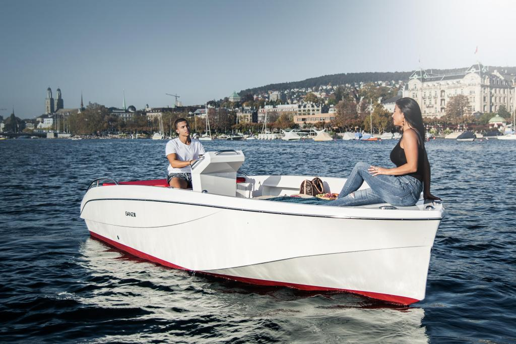 Exterior Ganz Boats ShortBreak 5.8 New Boat