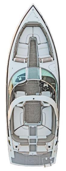 Layout Crownline Bowrider 265 SS