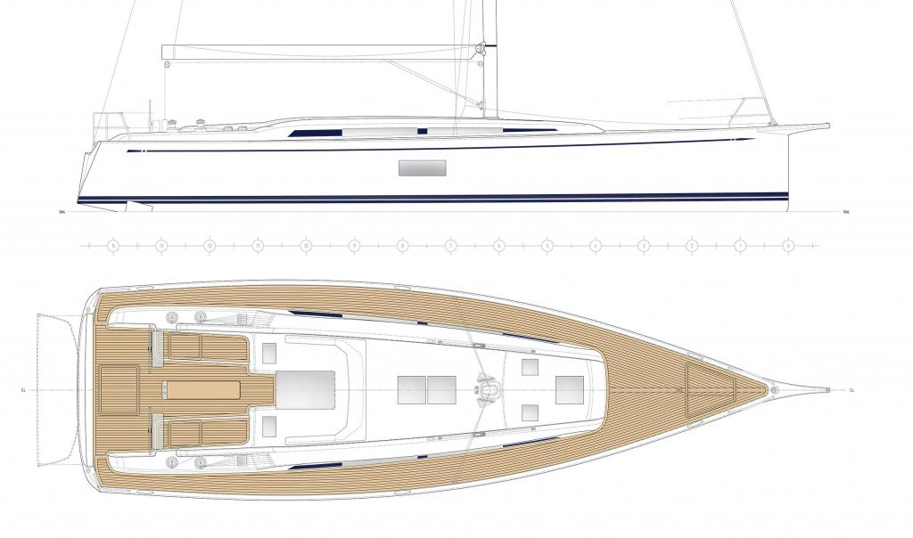 Layout Nautors Swan Swan 48