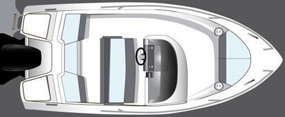 Layout Bella Open Boat 485 R