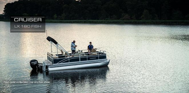 Harris Cruiser LX 180 Fish Neuboot