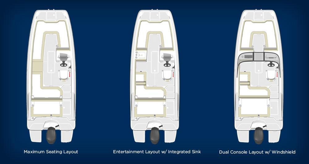 Layout Bayliner DX2000