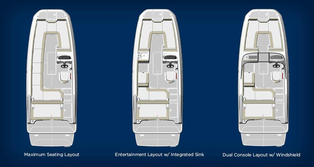 Layout Bayliner DX2050