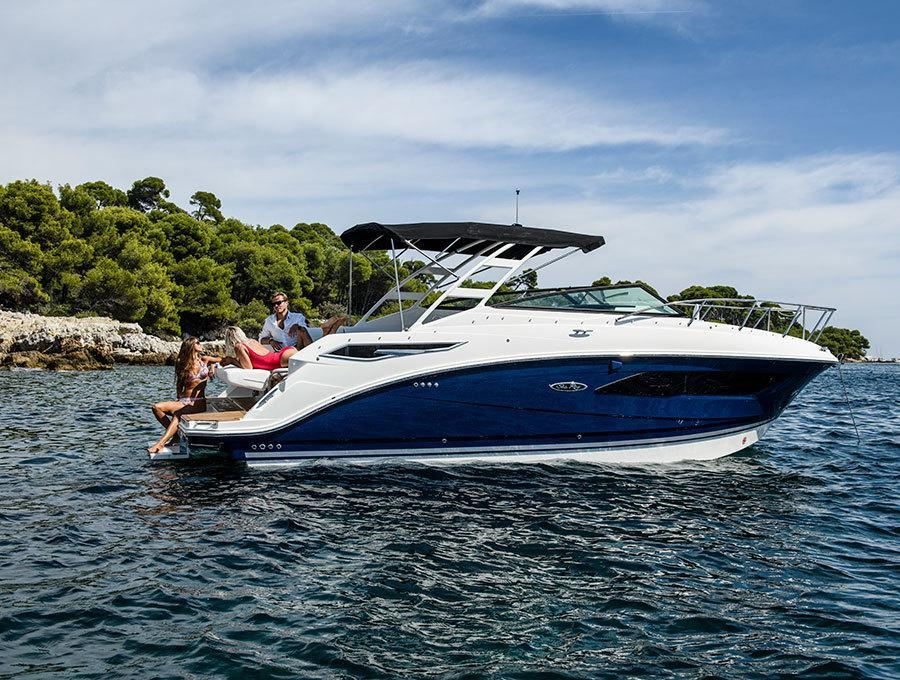 esterno Sea Ray Sport Cruiser 290 Sundancer Barca nuova