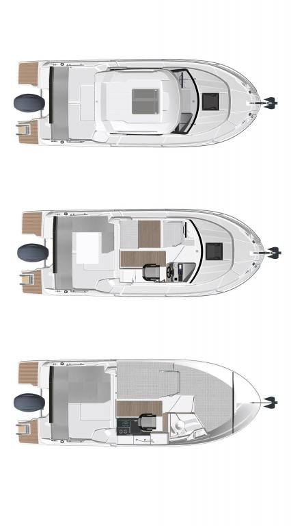 Layout Jeanneau Merry Fisher 695 S2