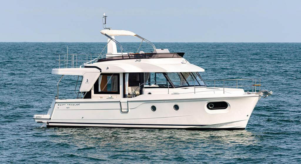 Exterior Bnteau Swift Trawler 41 Fly New Boat