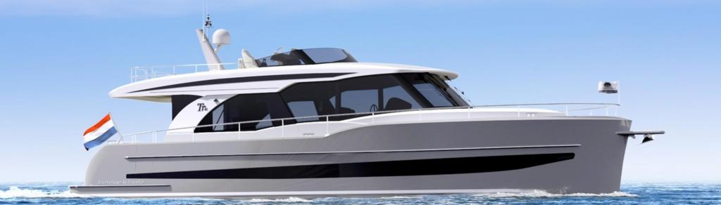 Exterior Boarncruiser 46 Traveller Sedan Flydeck New Boat