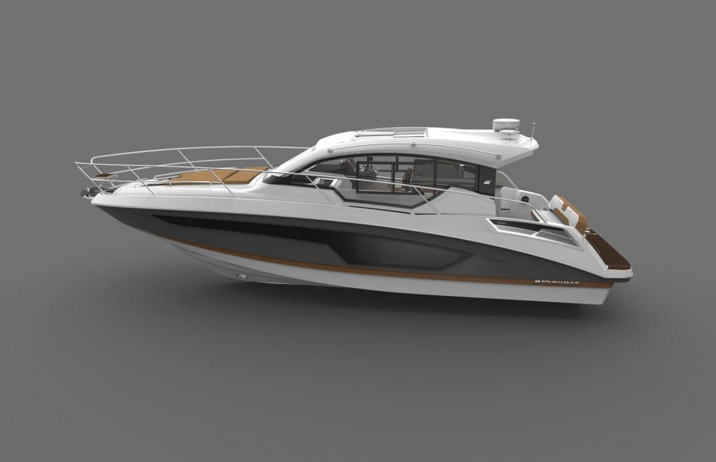Exterior Four Winns V 355 Coupe New Boat