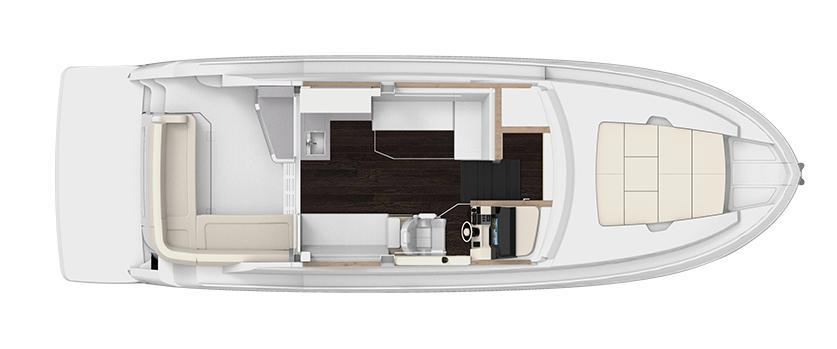 Layout Regal 38 Grande Coupe