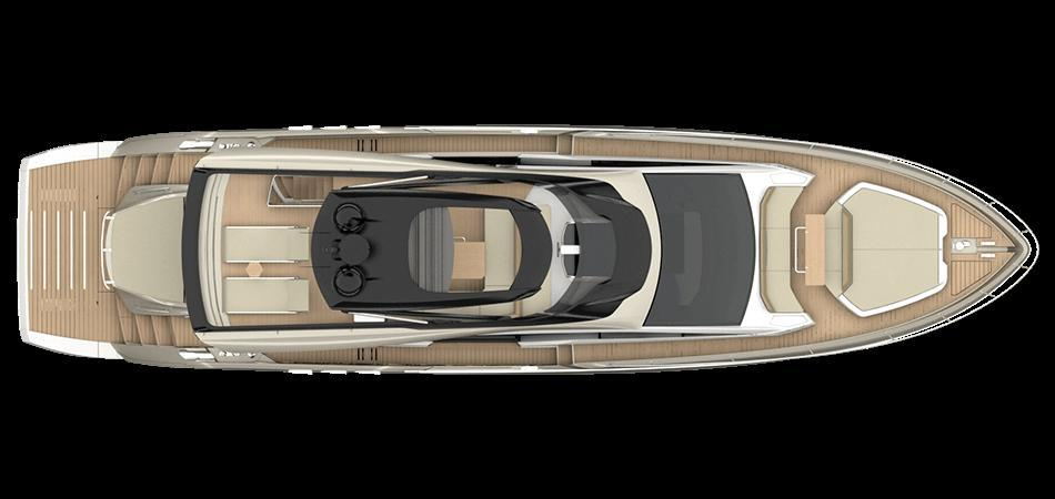 Layout Sessa Yacht 68 Fly Gullwing