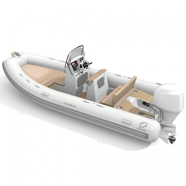 Aussenansicht Zodiac Medline 580 Limited Neuboot