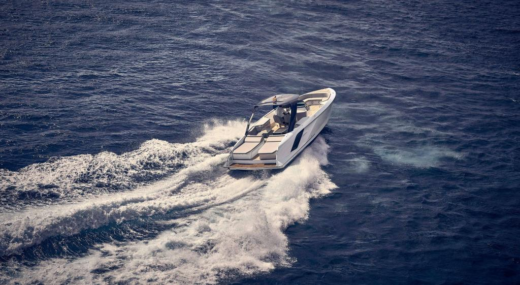 Exterior Frauscher 1414 Demon Air New Boat