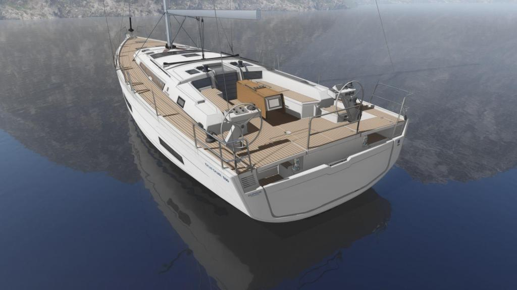 Exterior Dufour 530 Grand Large New Boat