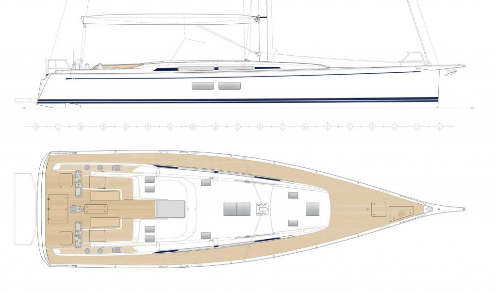 Layout Nautors Swan Swan 58