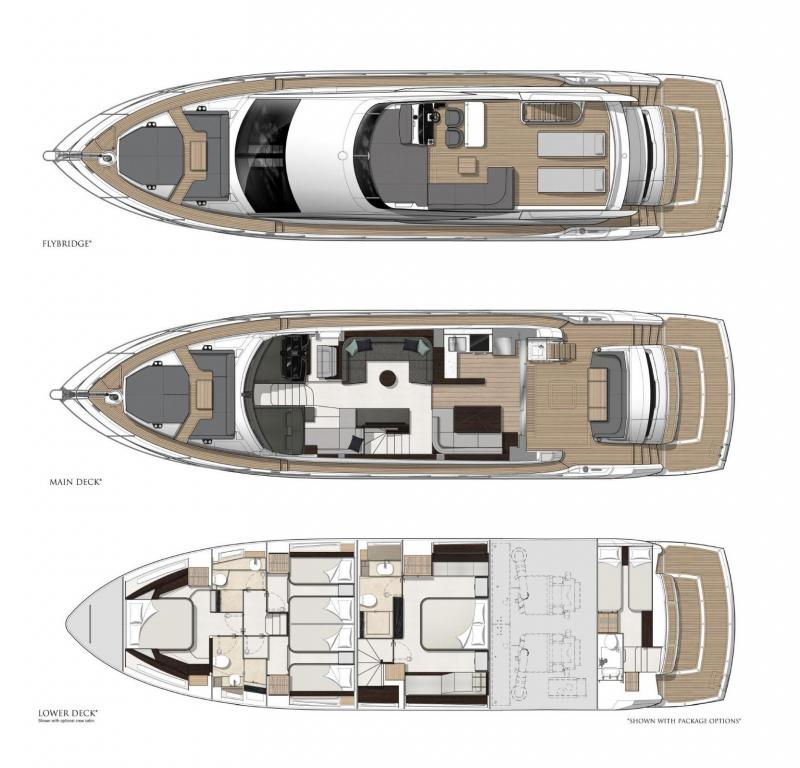 Layout Sunseeker Manhattan 68