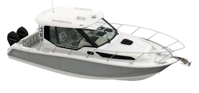 Exterior Boston Whaler 325 Conquest Pilothouse New Boat
