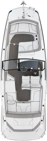 Layout Glastron GTD 245 Surf