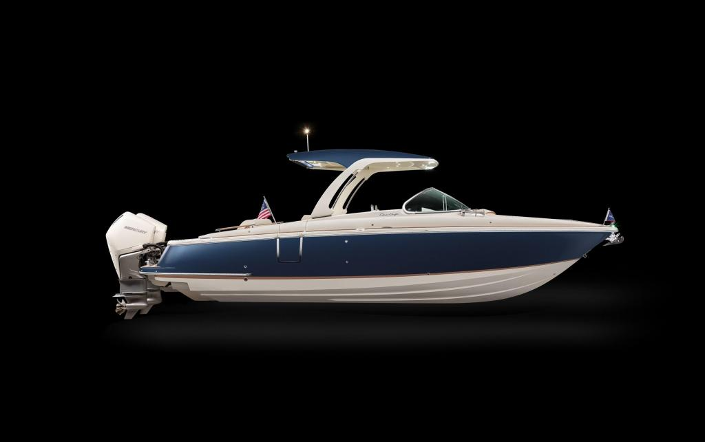 Aussenansicht Chris Craft Launch 31 GT Neuboot