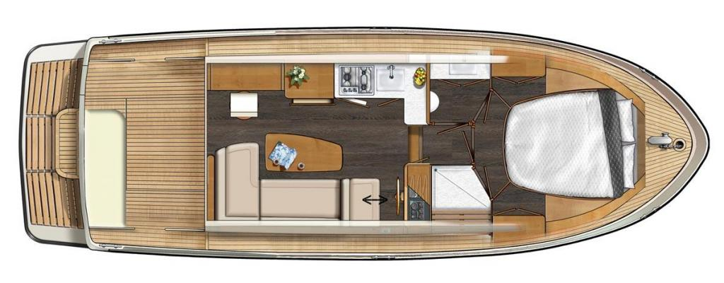 Layout Linssen Linssen 30 SL Sedan