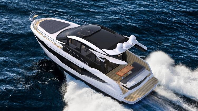 Exterior Galeon 410 HTC New Boat