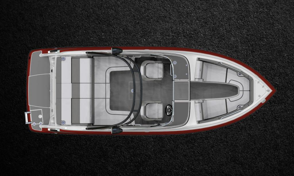 Exterior Crownline 240 SS Surf New Boat