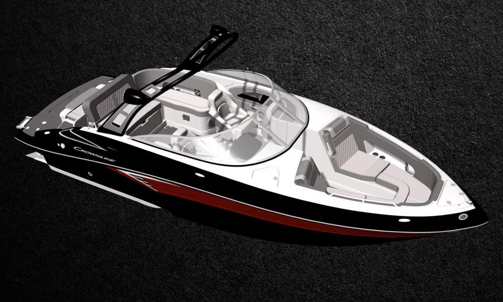 Exterior Crownline 255 SS Surf New Boat