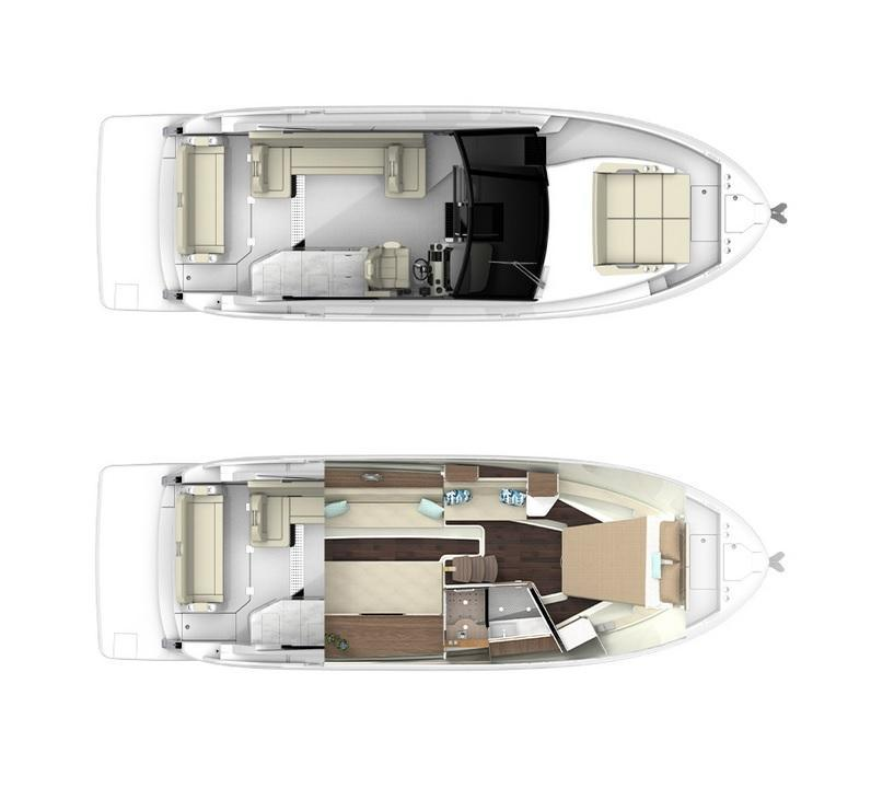 Layout Regal 36 Grande Coupe